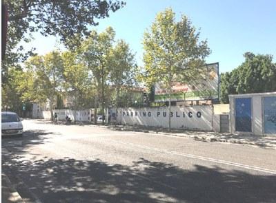 Parcela en la que se construirá el nuevo hospital materno infantil, en la calle Manuel Siurot