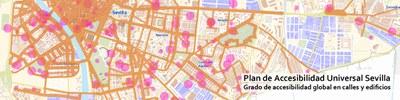 El pleno del Ayuntamiento aprueba el Plan de Accesibilidad Universal de Sevilla elaborado por la Gerencia de Urbanismo