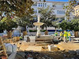 Plaza de la Magdalena en obras