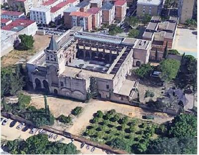 Foto aérea del monasterio de San Jerónimo